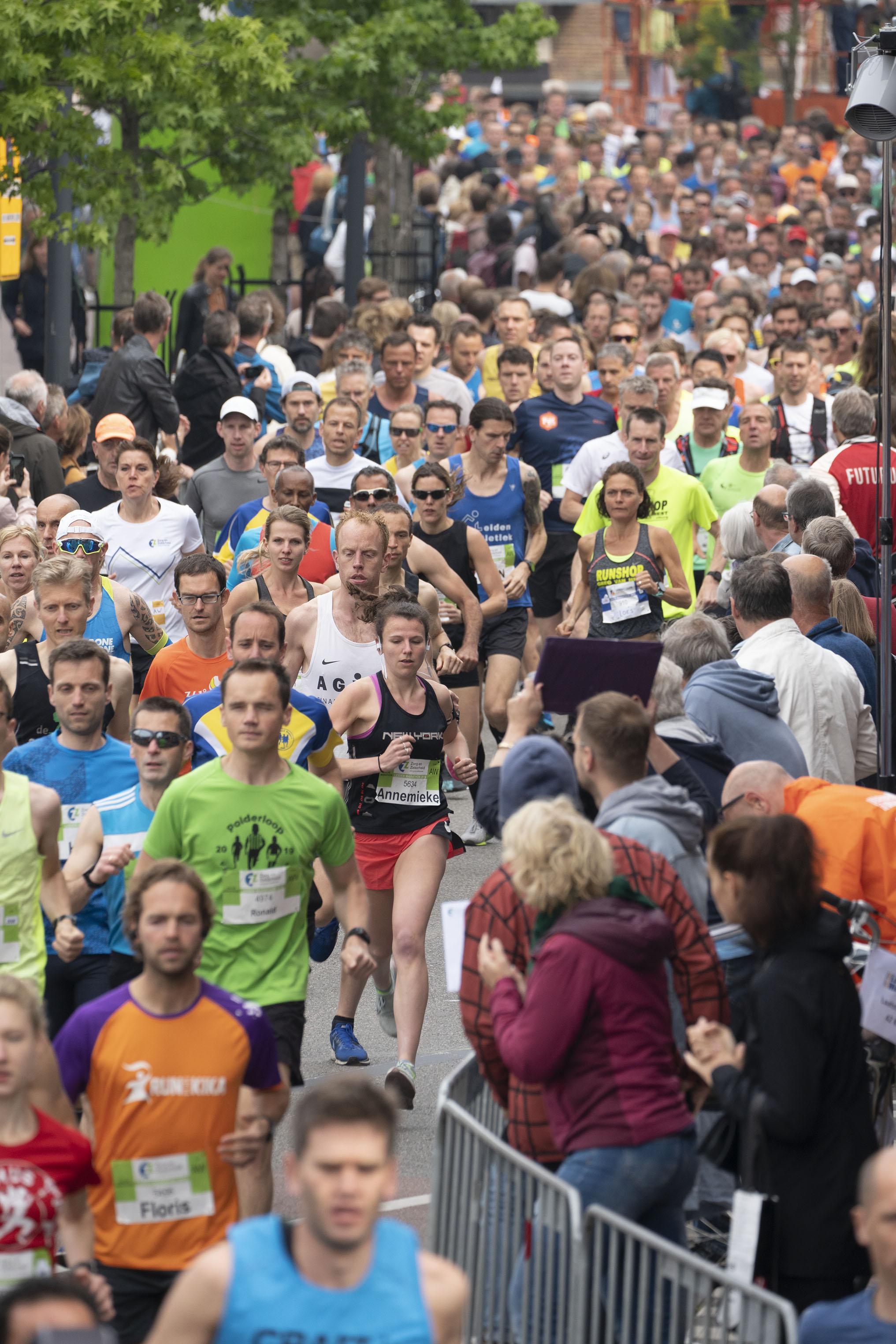 Leiden Marathon blijft hoop houden, organiseert anderhalvemeterversie voor november
