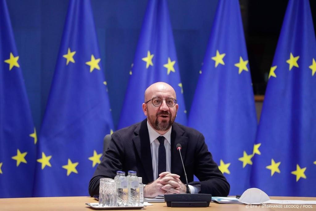 EU-top verplaatst naar online vanwege toename coronagevallen