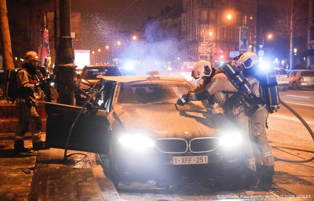 Politie Brussel honderden keren in actie tijdens jaarwisseling