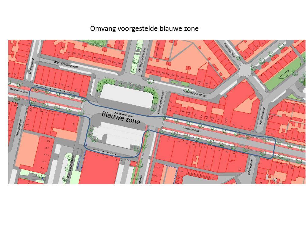 Bewoners Kennemerlaan blijven zich verzetten tegen blauwe zone: 'Ik bleef rondjes rijden voor een parkeerplek, niet echt lekker voor het milieu'