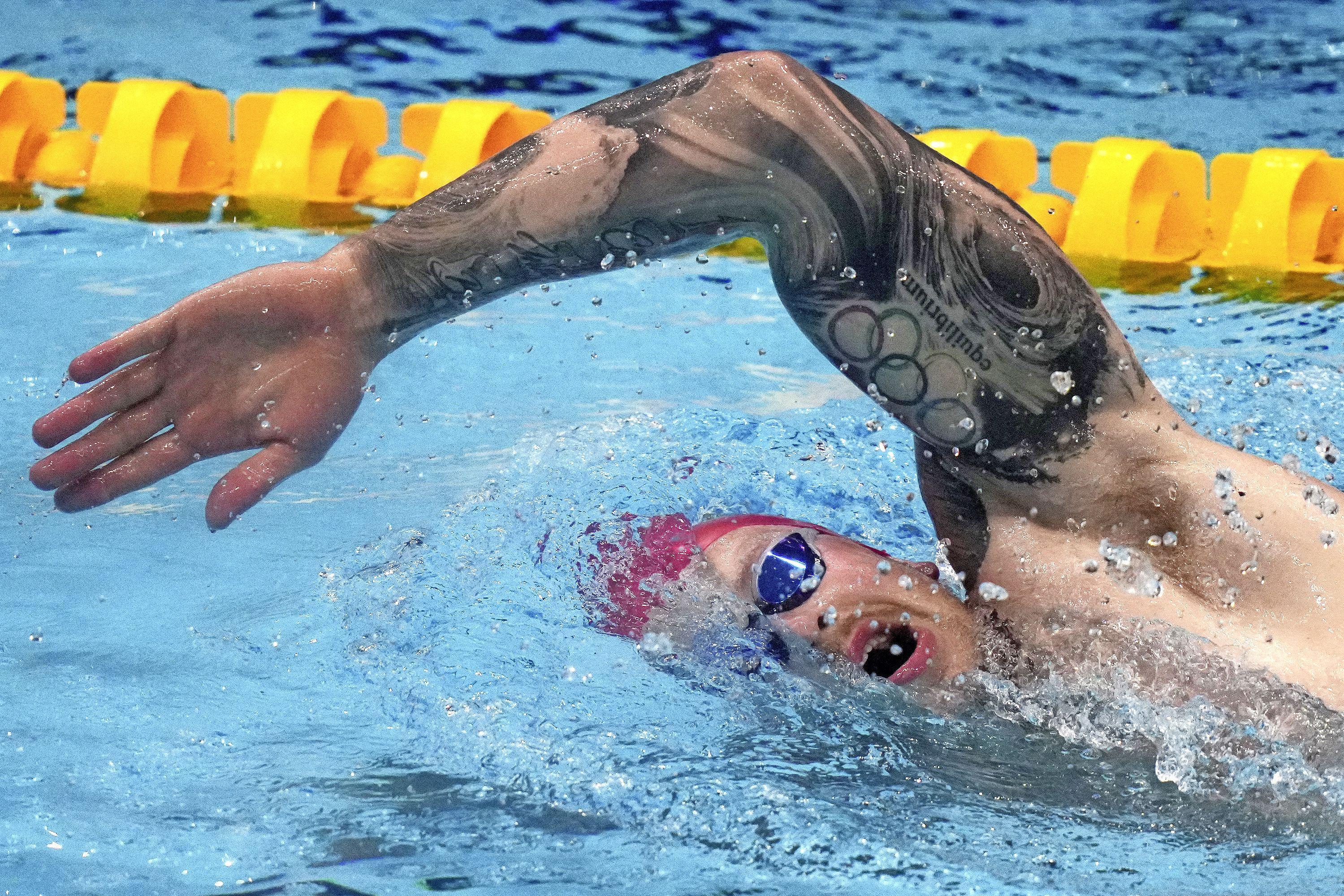 Voor Katwijkse zwemmer Kamminga zijn de Spelen een bonus