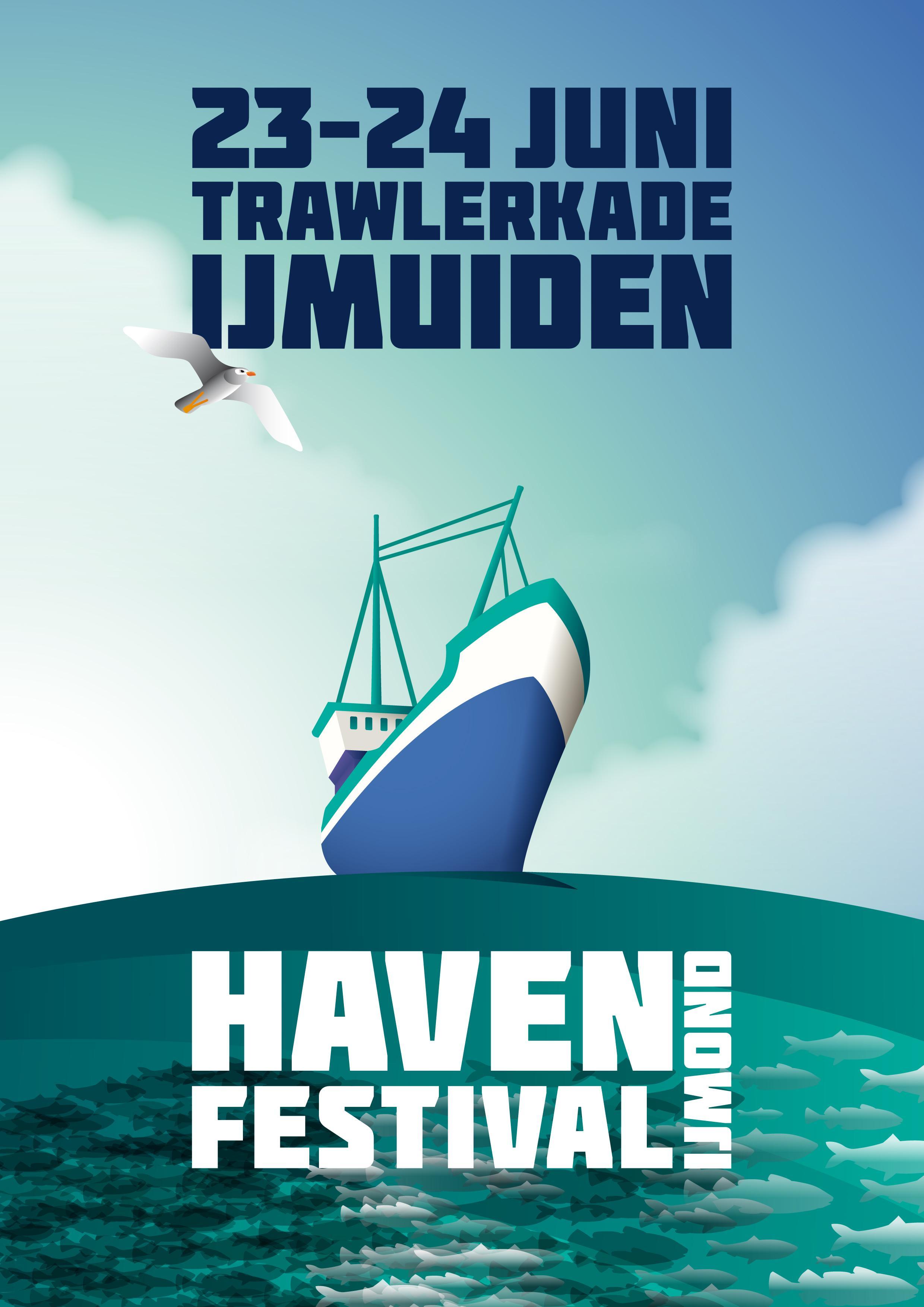 Vis, cultuur en feest op Havenfestival in IJmuiden