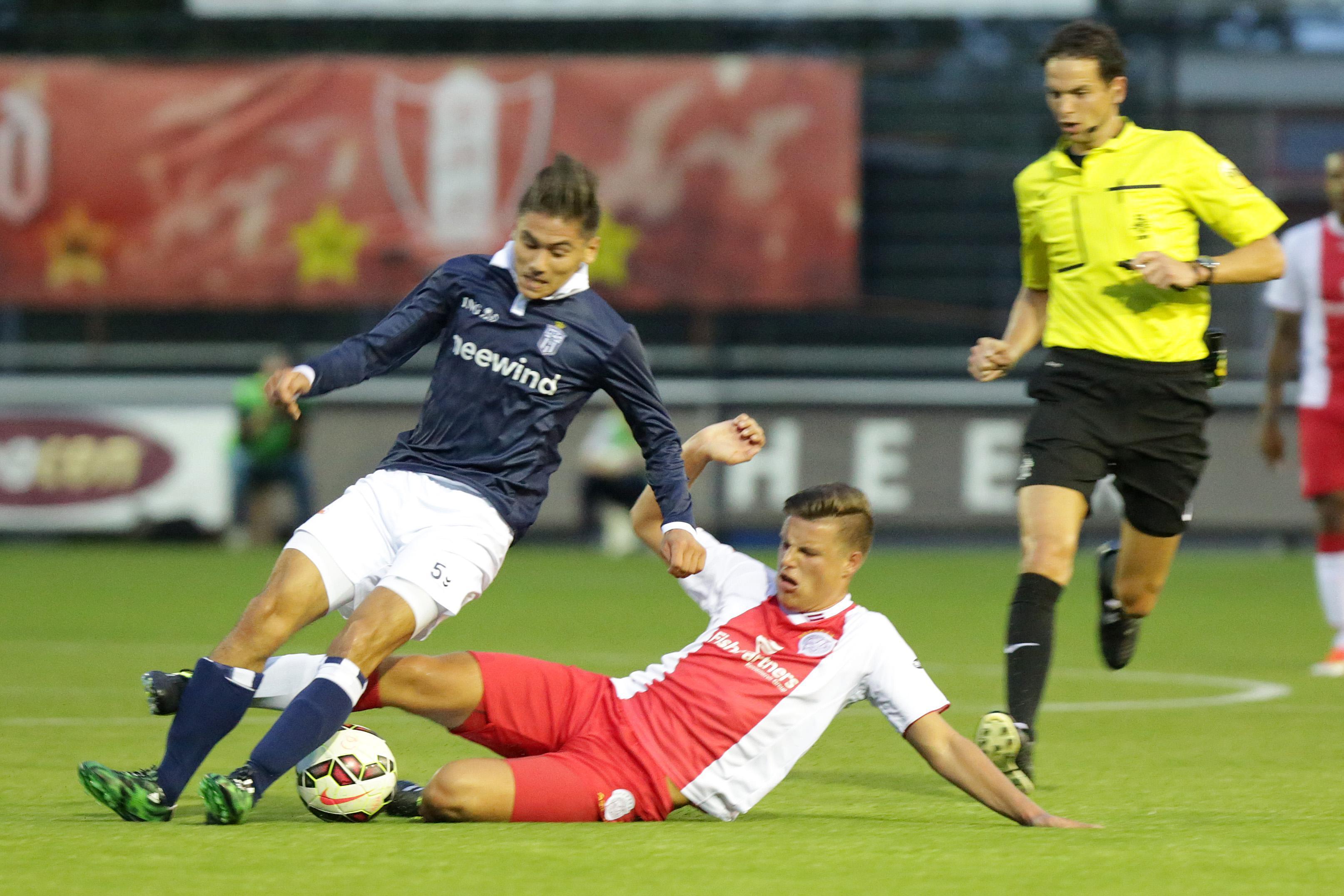 Geen kruisbandblessure voor HFC-back Vincent Volkert