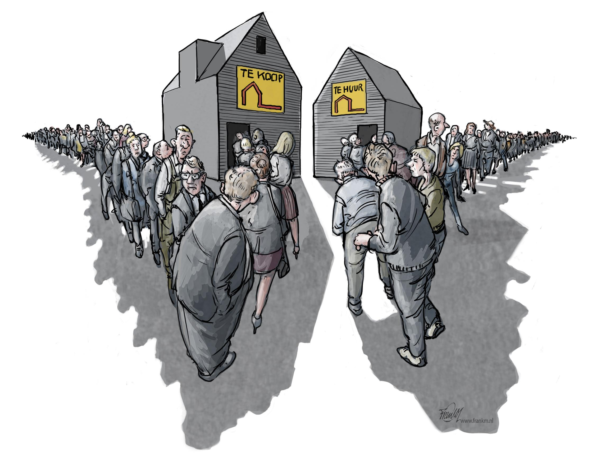'Bouwen is de duurste oplossing'. Regionaal woonakkoord scherpt achterhaalde cijfers aan. Tussen sociale huurwoningen en dure koopwoningen gaapt groot gat | Serie