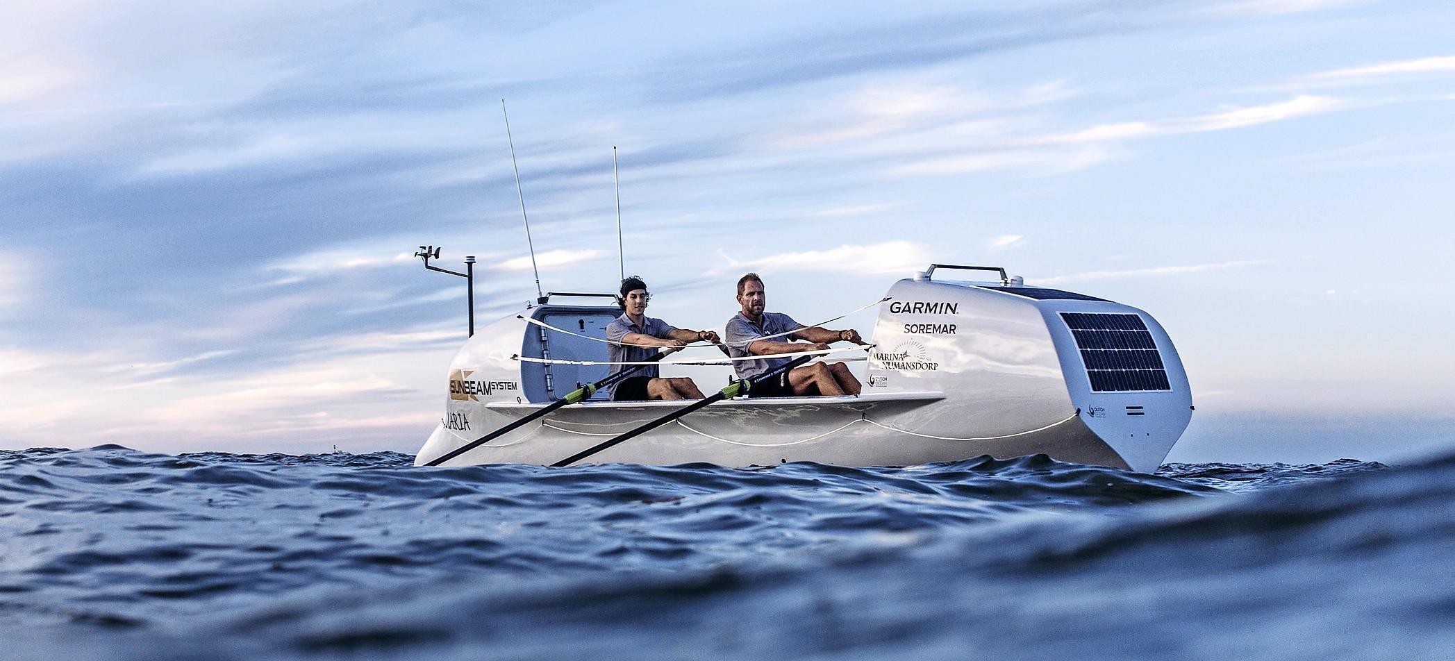 Wassenaarder gaat een maand lang op de oceaan dagelijks achttien uur roeien: Mark Slats wil zijn eigen record breken [video]