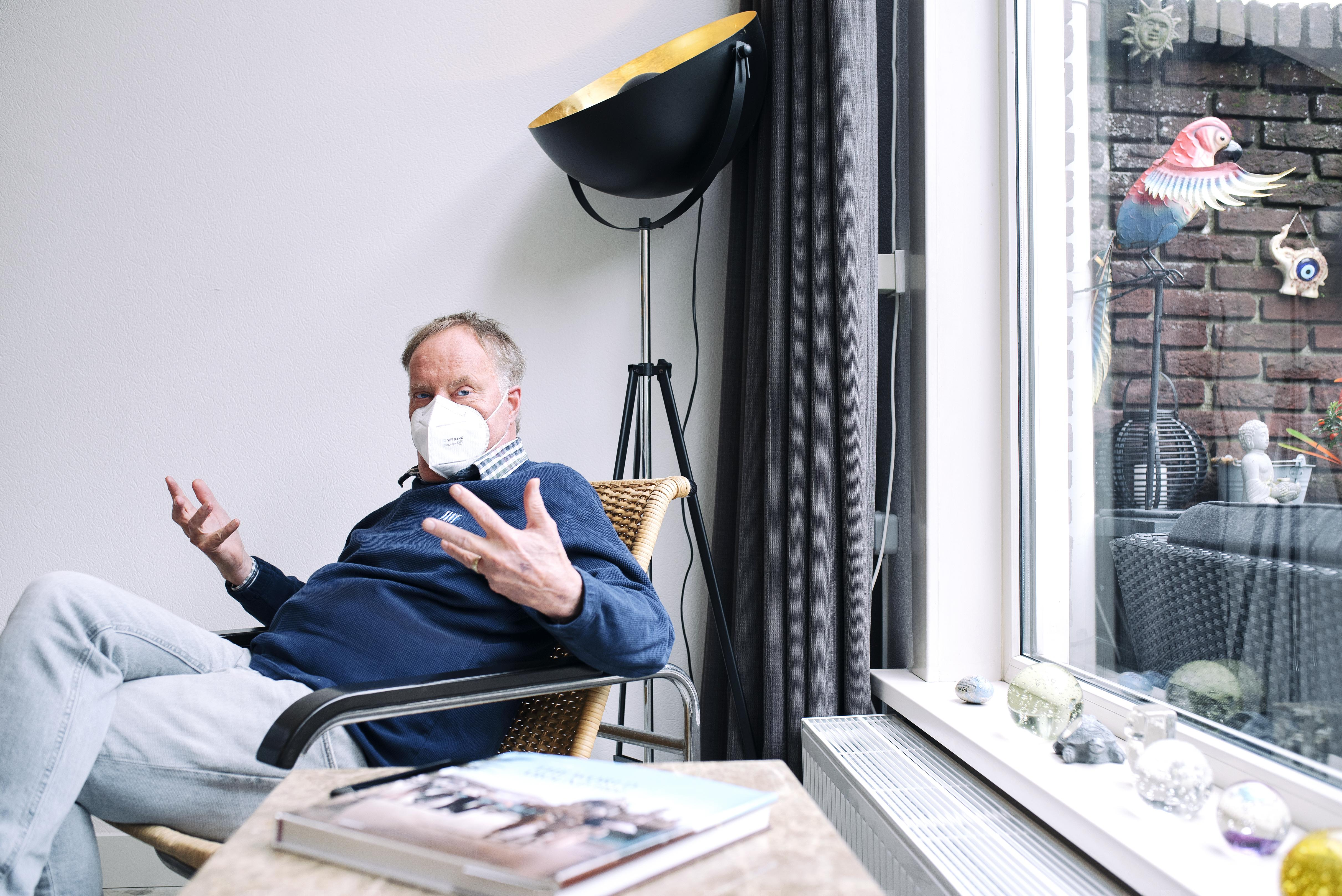 Eric de Weerdt kreeg vorig jaar nieuwe longen: 'Het is heel apart om gewoon te kunnen ademen'