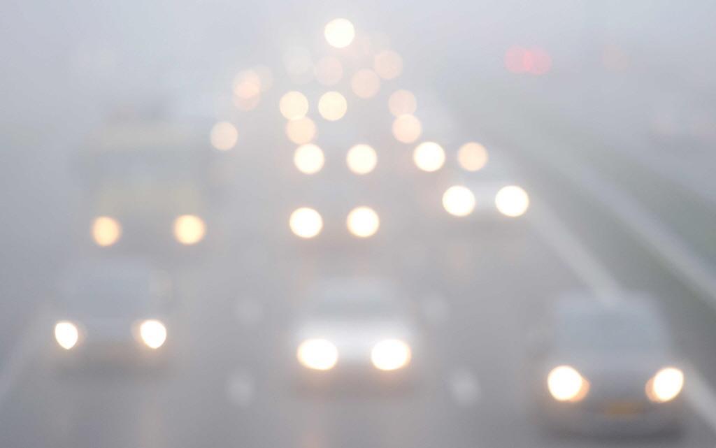 Code geel om lokaal dichte mist in westen en noorden
