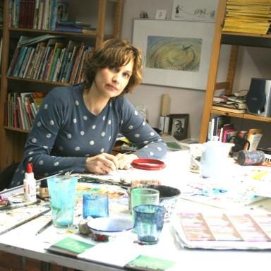 Sanne te Loo geeft workshops in de bieb Haarlem