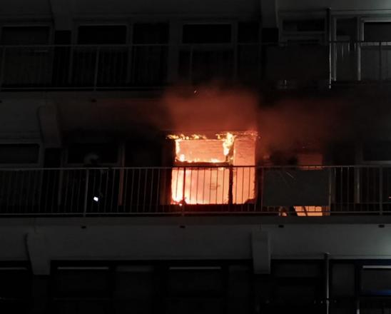 Katwijkse volgens OM schuldig aan brand in haar woning: eis zestien maanden cel