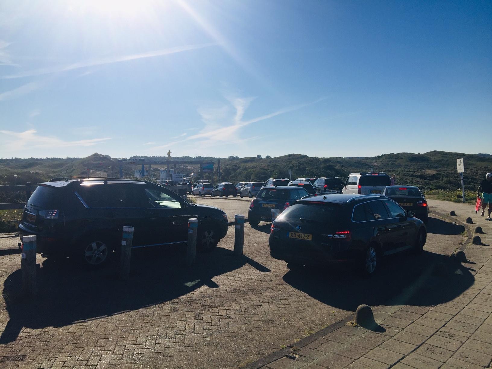 Update: Weg naar strand Castricum was lang dicht, nu weer open