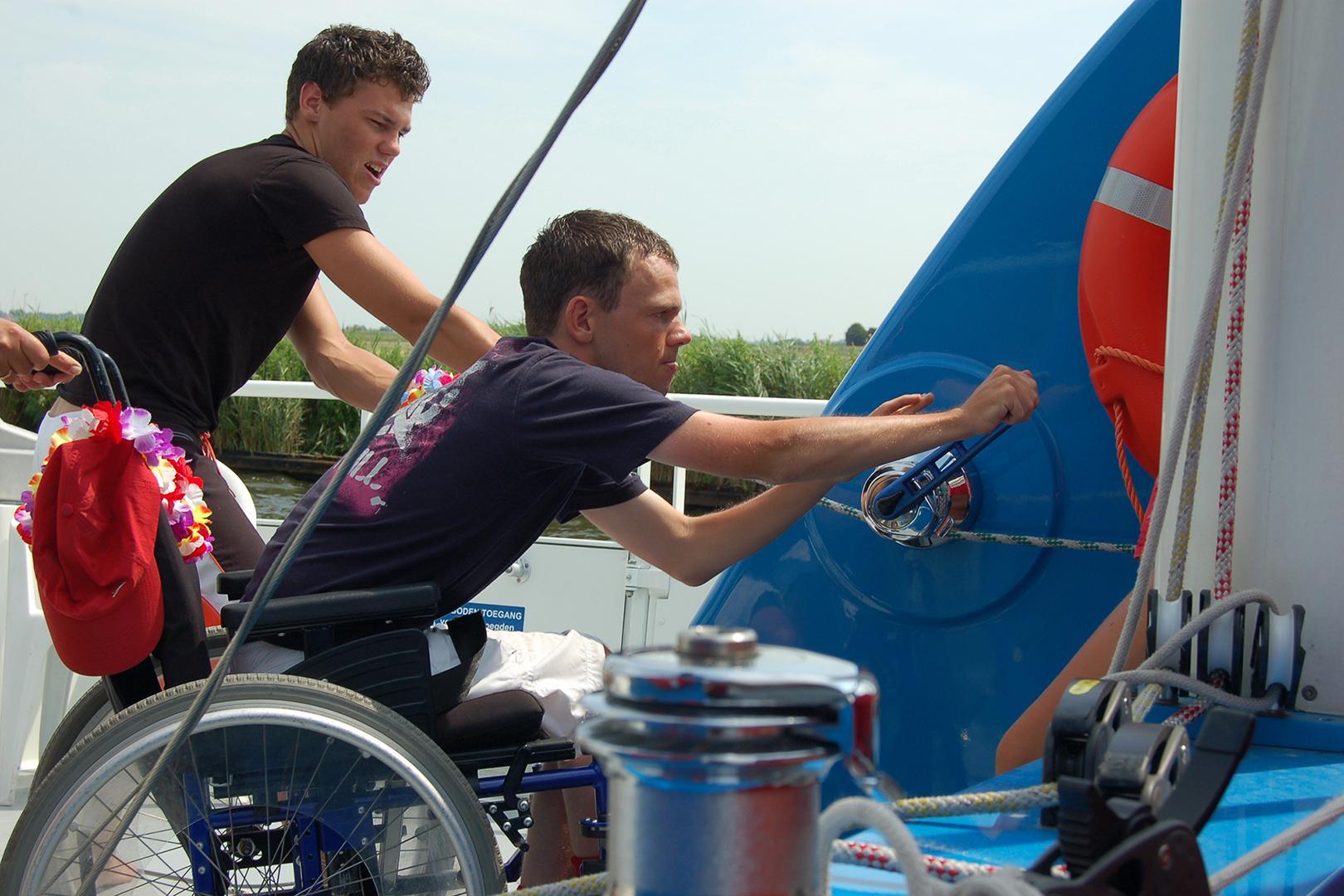 Lutgerdina terug naar Enkhuizen en in de vaart dankzij sponsorgeld na domper