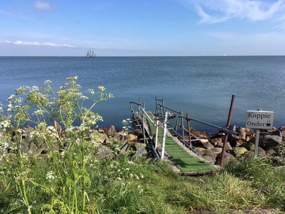 Al bijna 1.300 handtekeningen voor 'behoud het IJsselmeer' tegen de zonne-eilanden in Andijk
