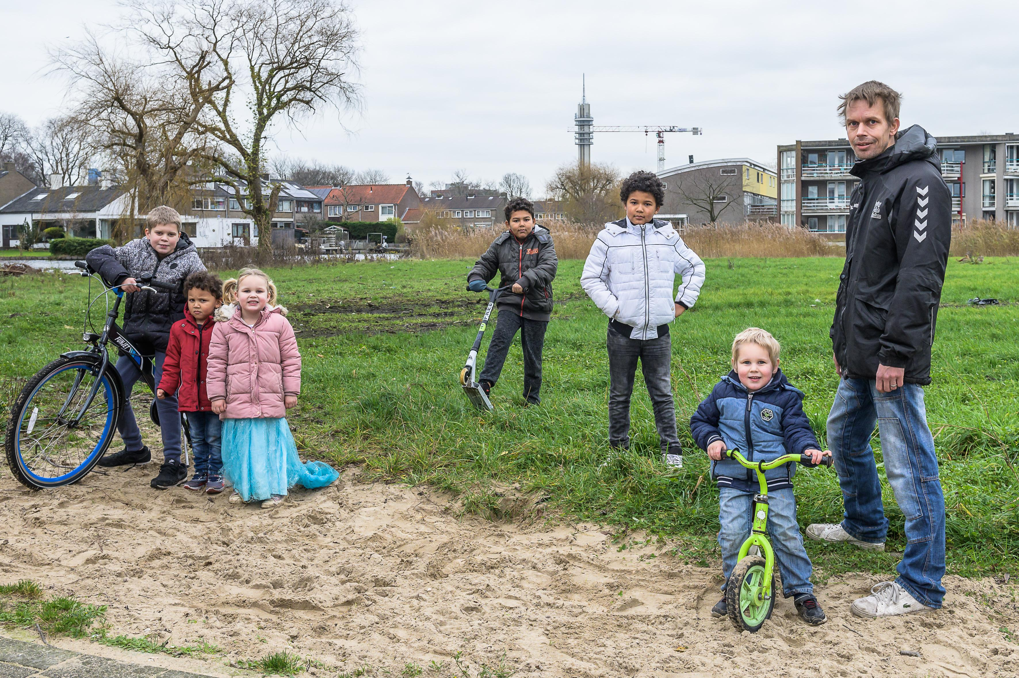 Het is Michael (38) gelukt: er komt een fietscrossbaan in Zaandam