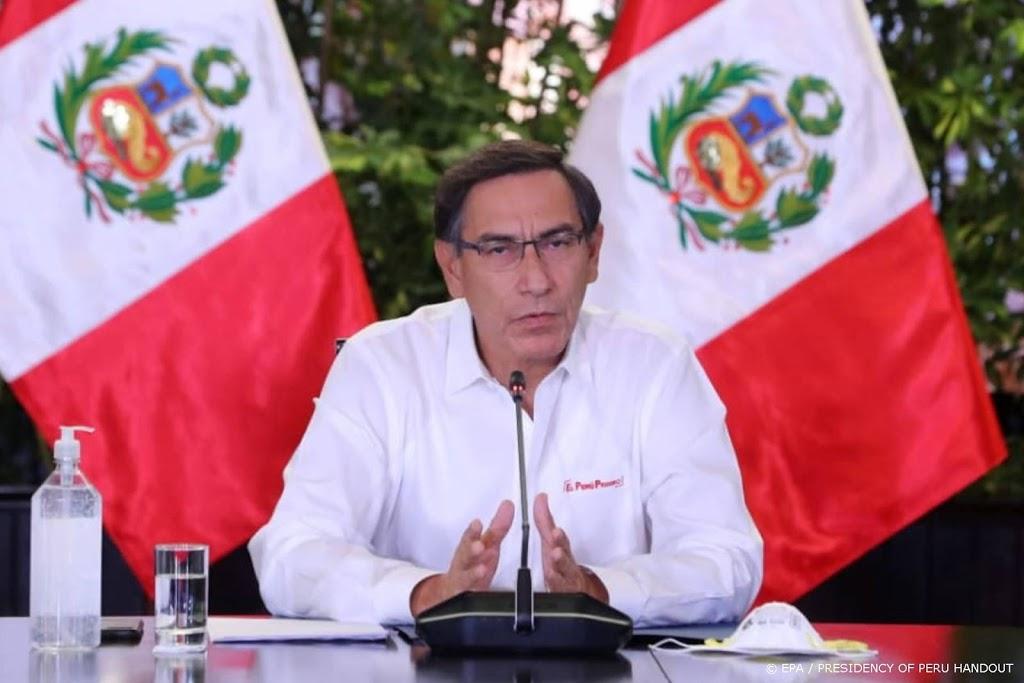 President Vizcarra van Peru overleeft stemming om afzetting
