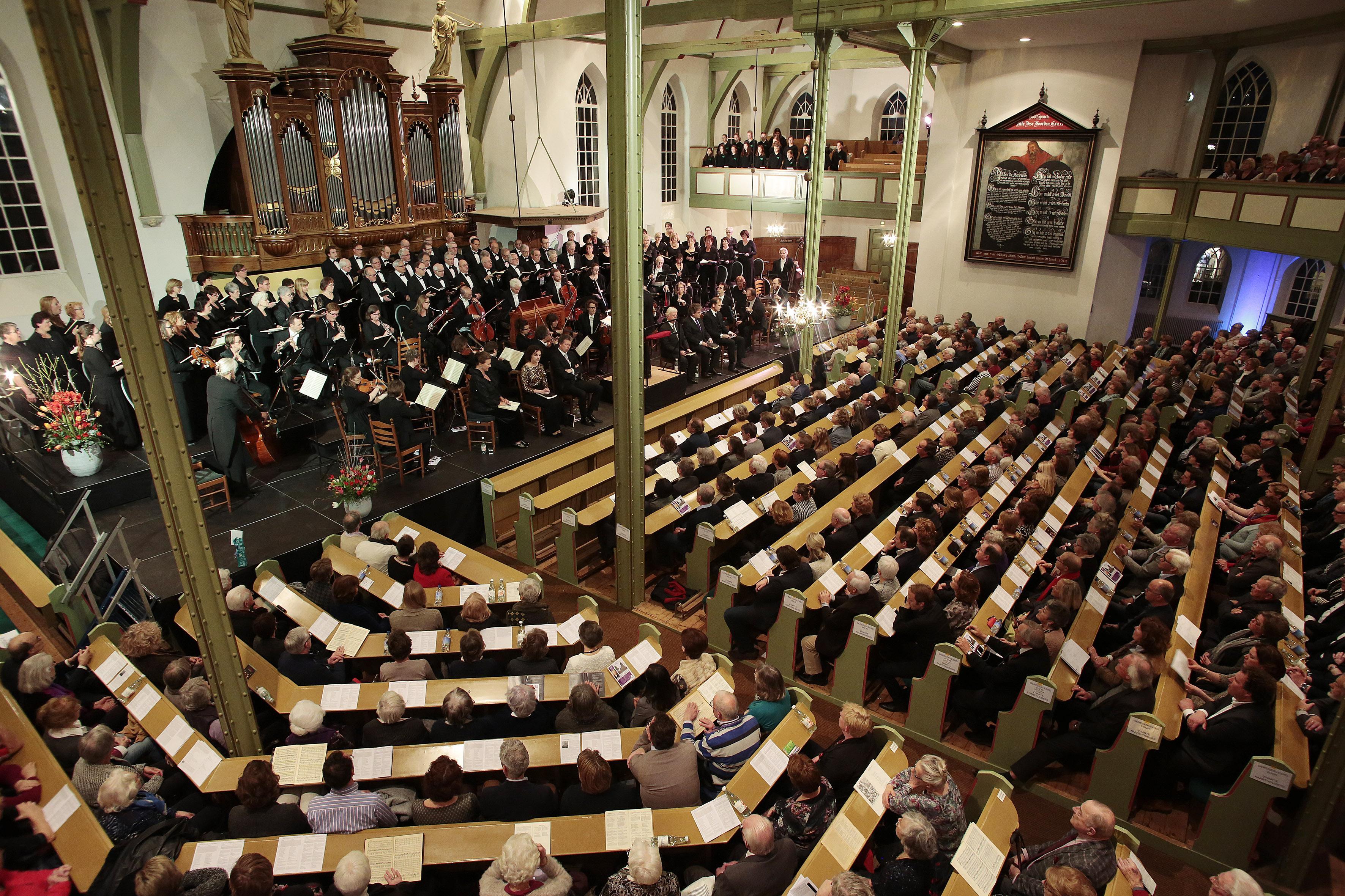 Matthaus Passion in Oude Kerk Huizen pas weer in 2022, kaartjes van 2020 blijven geldig