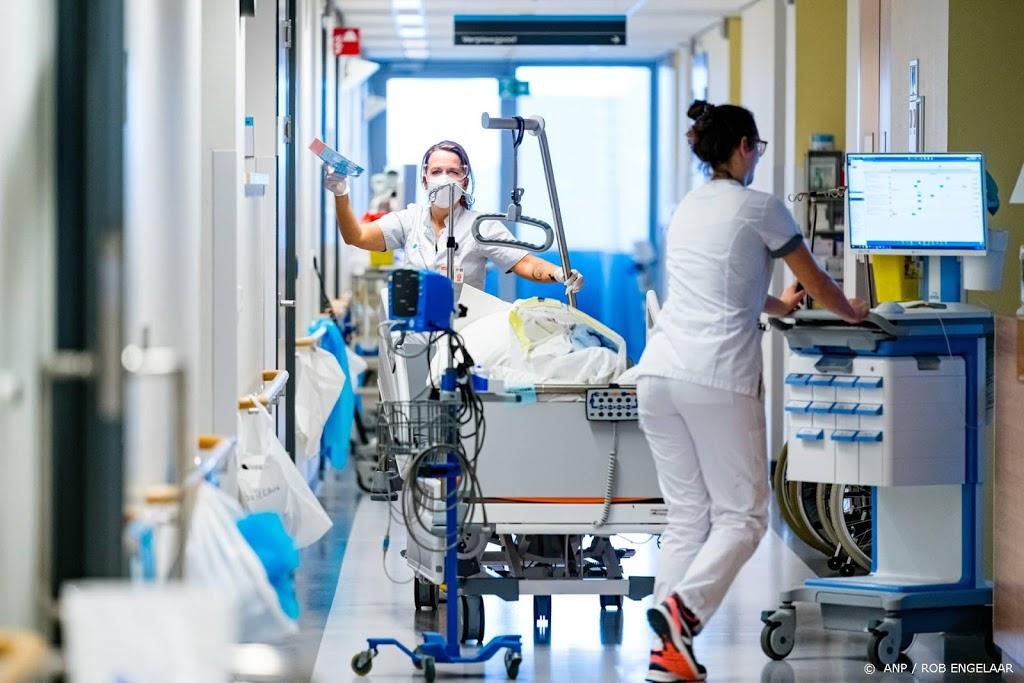 Aantal coronapatiënten in ziekenhuizen daalt 5 procent in een dag