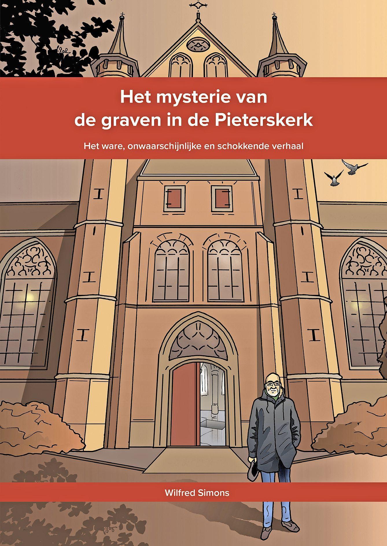 Drukkerij Ginkgo geeft voor Tegel genomineerd LD-artikel 'Mysterie van de Pieterskerk' uit
