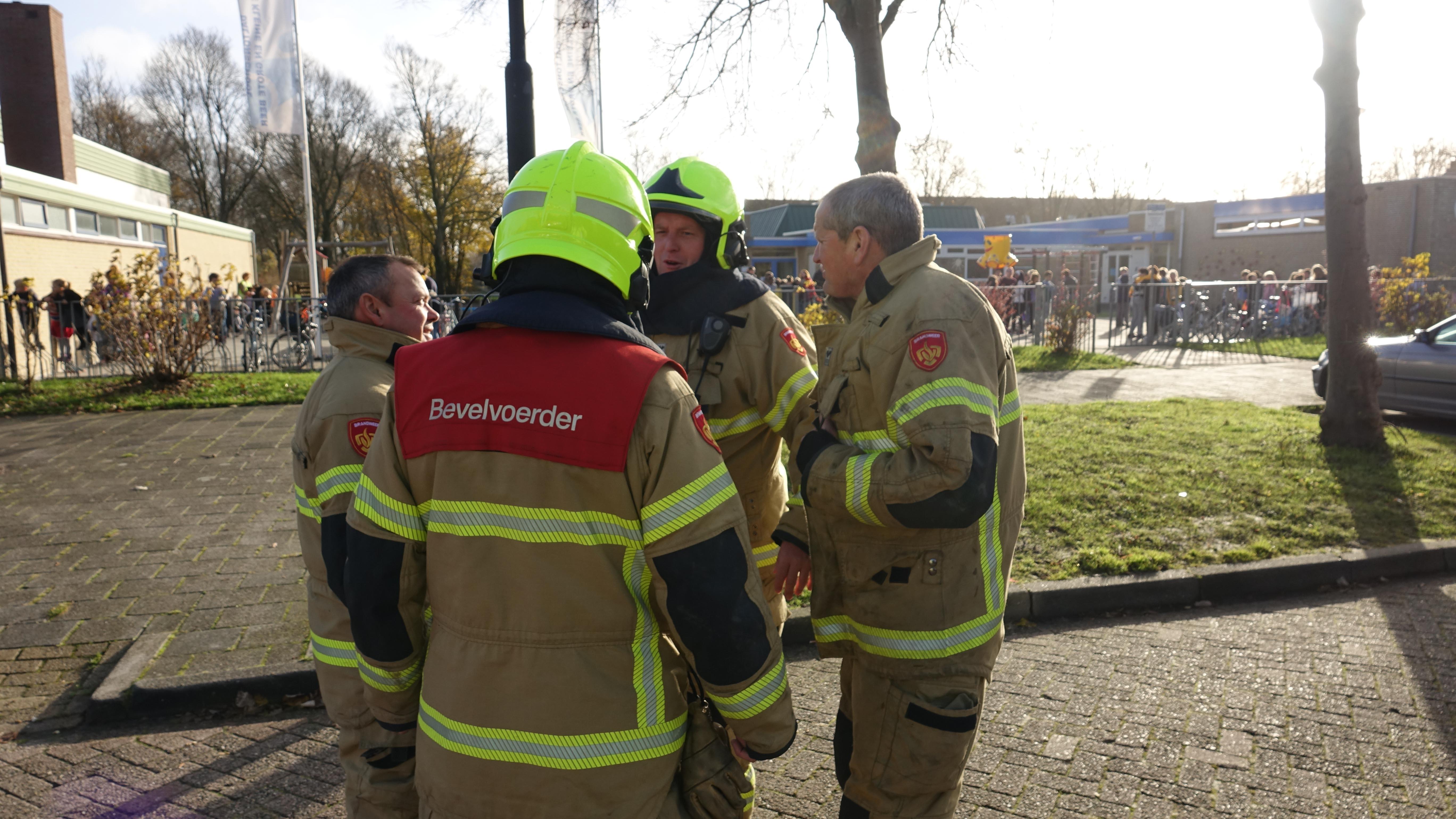 Daltonschool De Kleine en Grote Beer in Heerhugowaard ontruimd om brandje