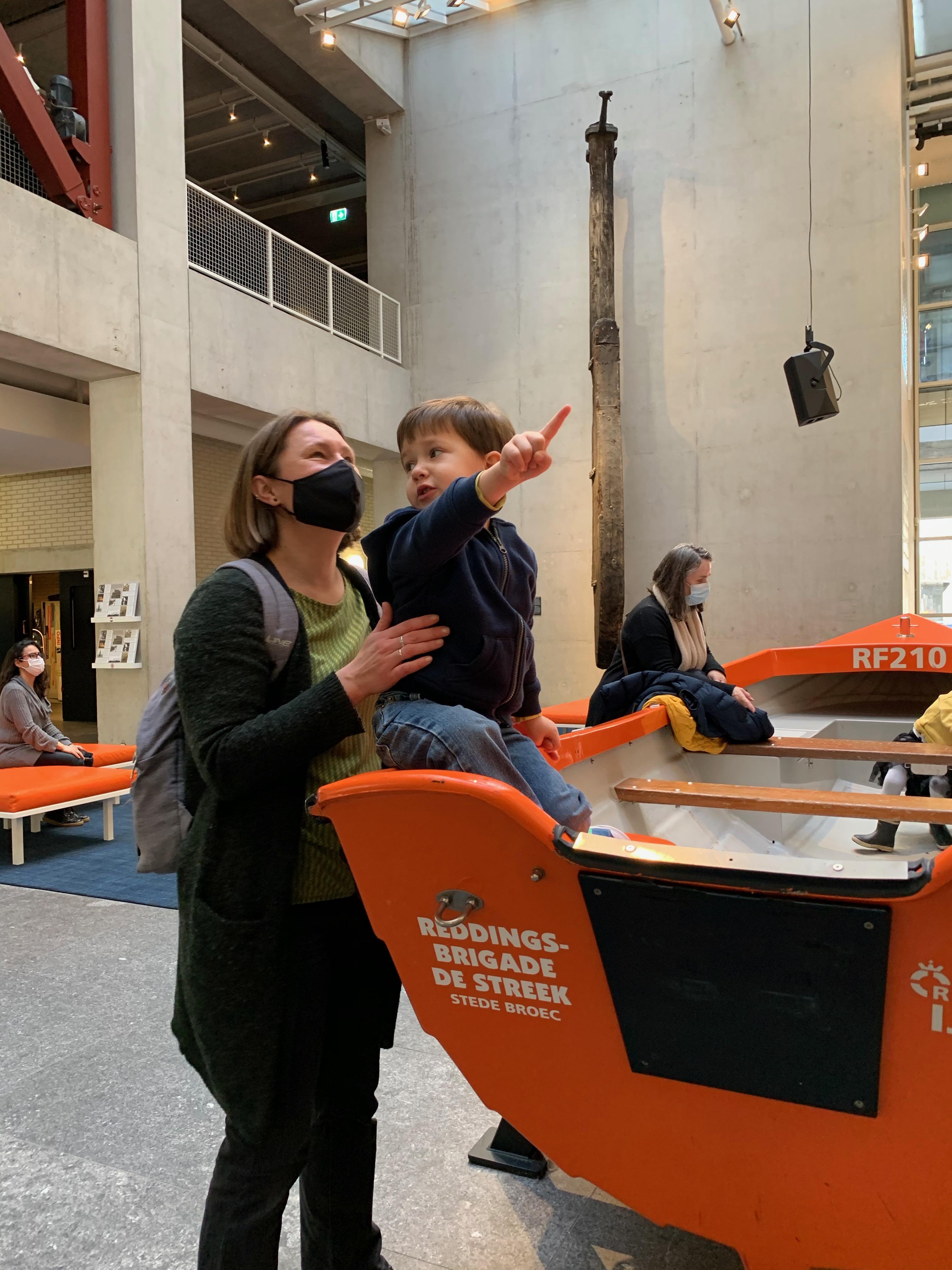 Rotterdams museumstuk komt eigenlijk uit... Stede Broec: 'We hebben nu snelle, moderne boot'