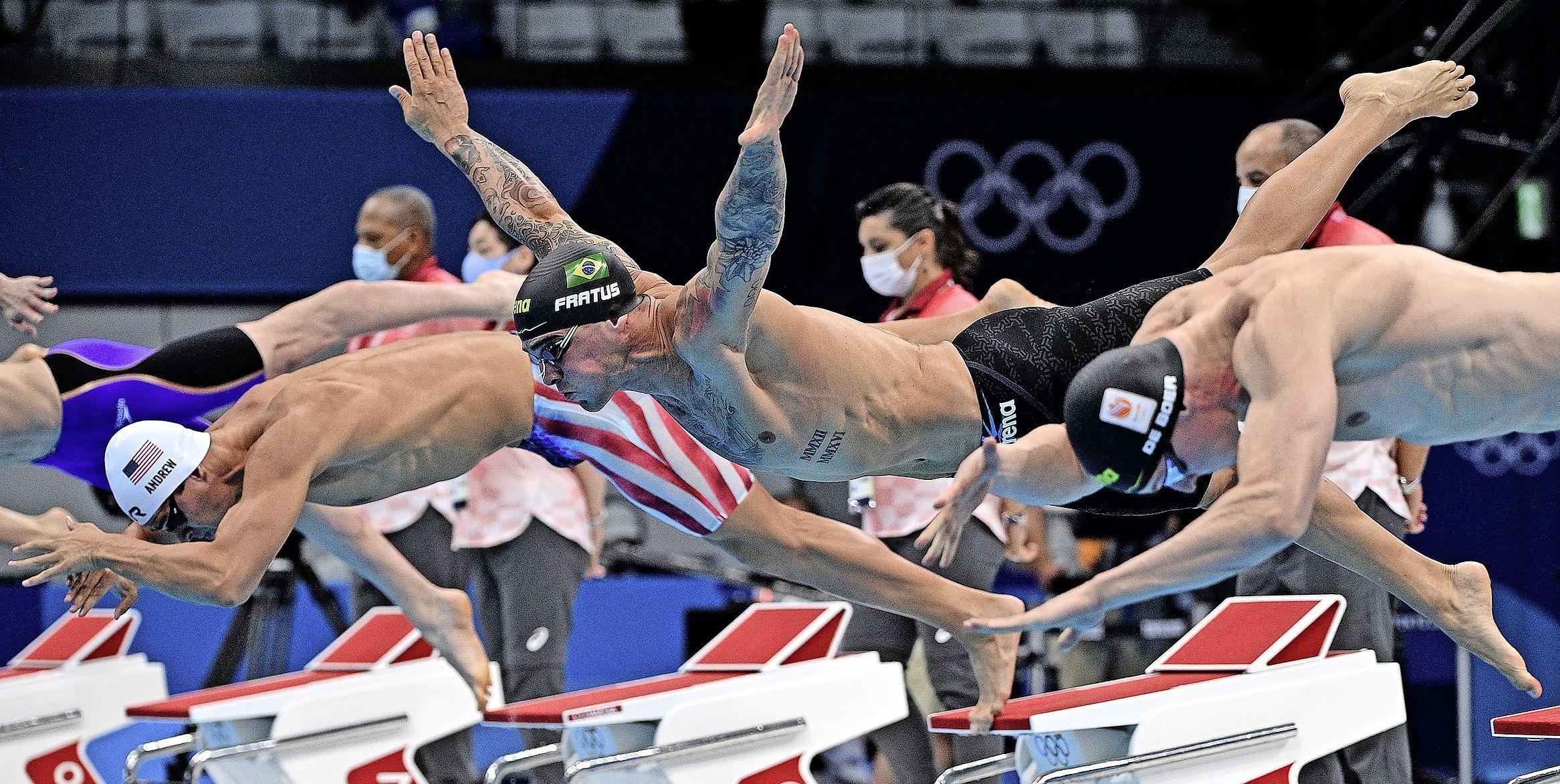 Alkmaarse zwemmer Thom de Boer naar halve finale op 50 meter vrij op Olympische Spelen
