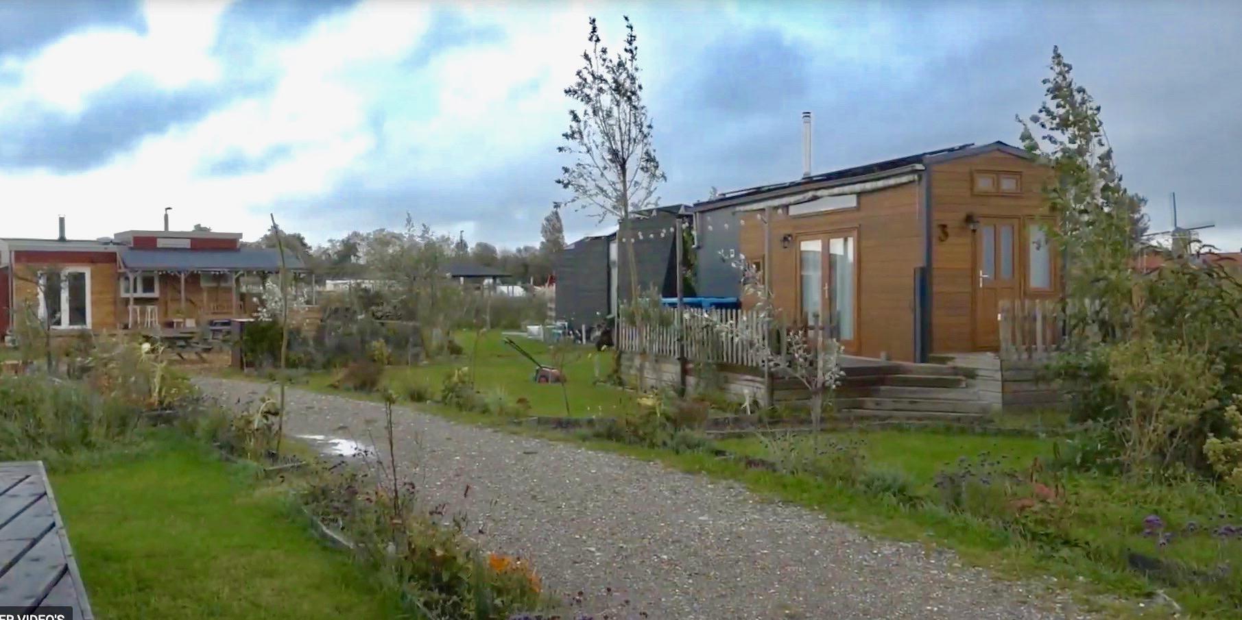 'Tiny houses aan Geraniumstraat in Lisse geven geen overlast'