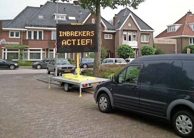 Forse afname Haarlemse inbraken, Heemstede klimt top tien in