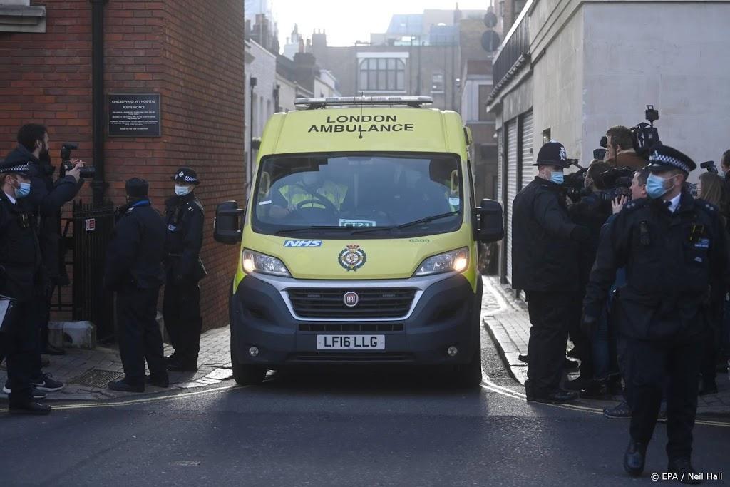 Prins Philip overgeplaatst naar ander ziekenhuis