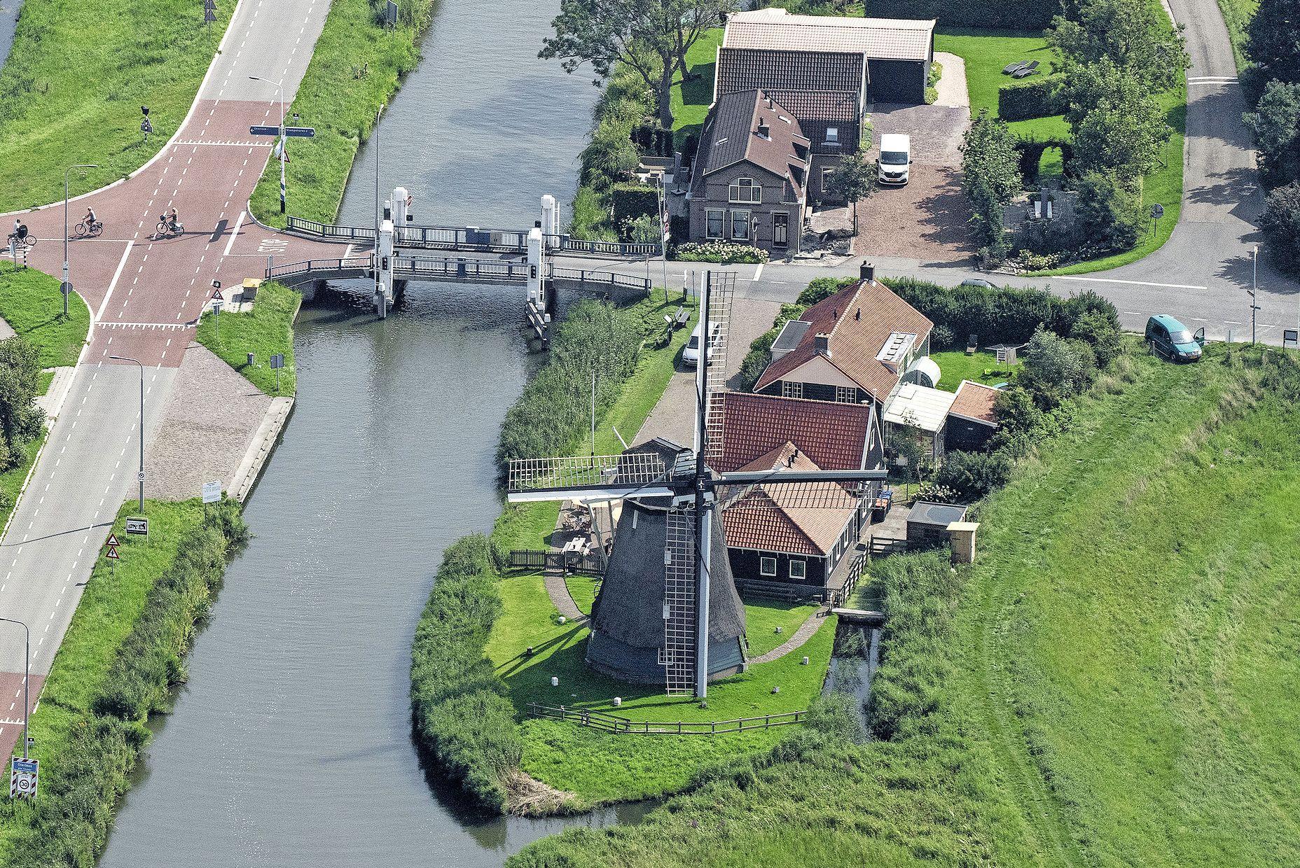 Noord-Holland trekt 7 ton uit voor onderhoud historische windmolens