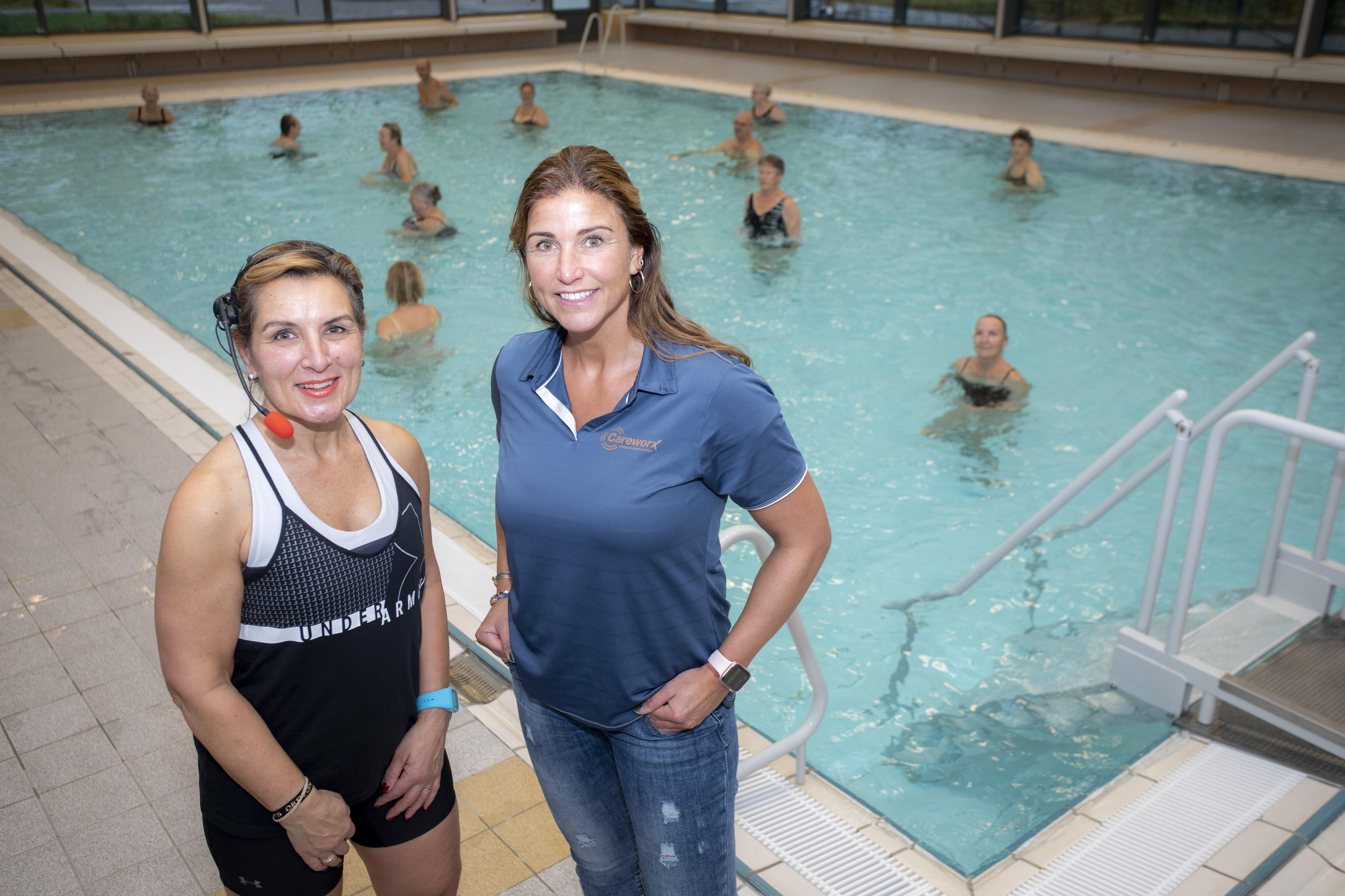 Oncologisch zwemmen in De Heerenduinen om te werken aan een betere conditie