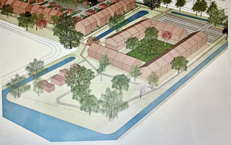 Plan hofjeswoningen Tuitjenhorn moet terug naar tekentafel van gemeente Schagen; 'Te massaal en het moet geen wandelgebied worden'