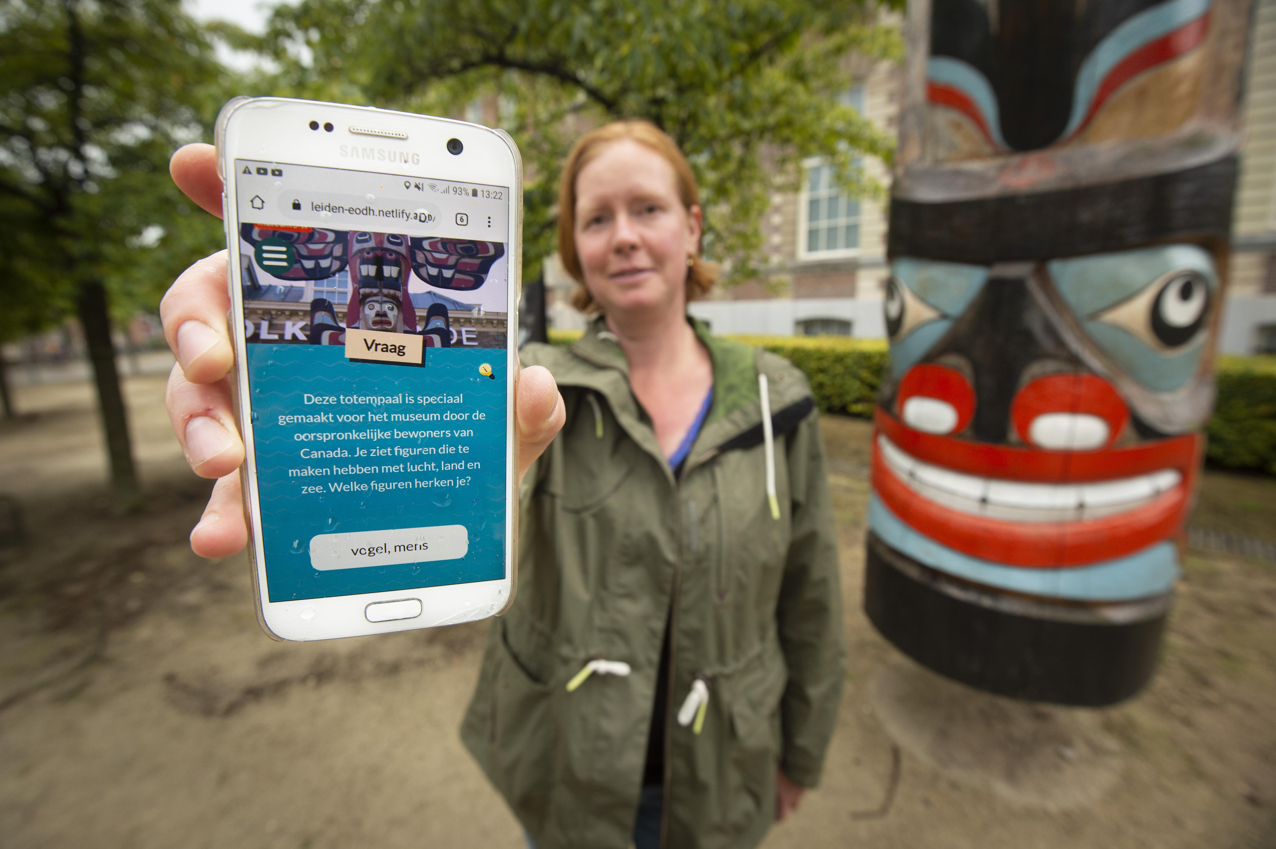 Gratis app 'Expeditie om de hoek' moet Leidse kinderen in de zomer buiten krijgen