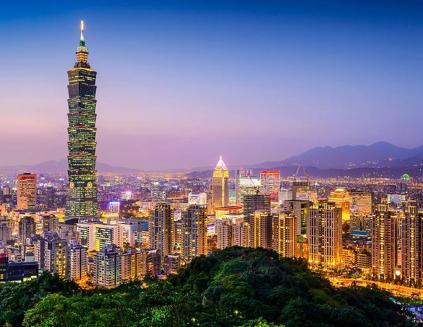 Duizelingwekkend Taiwan