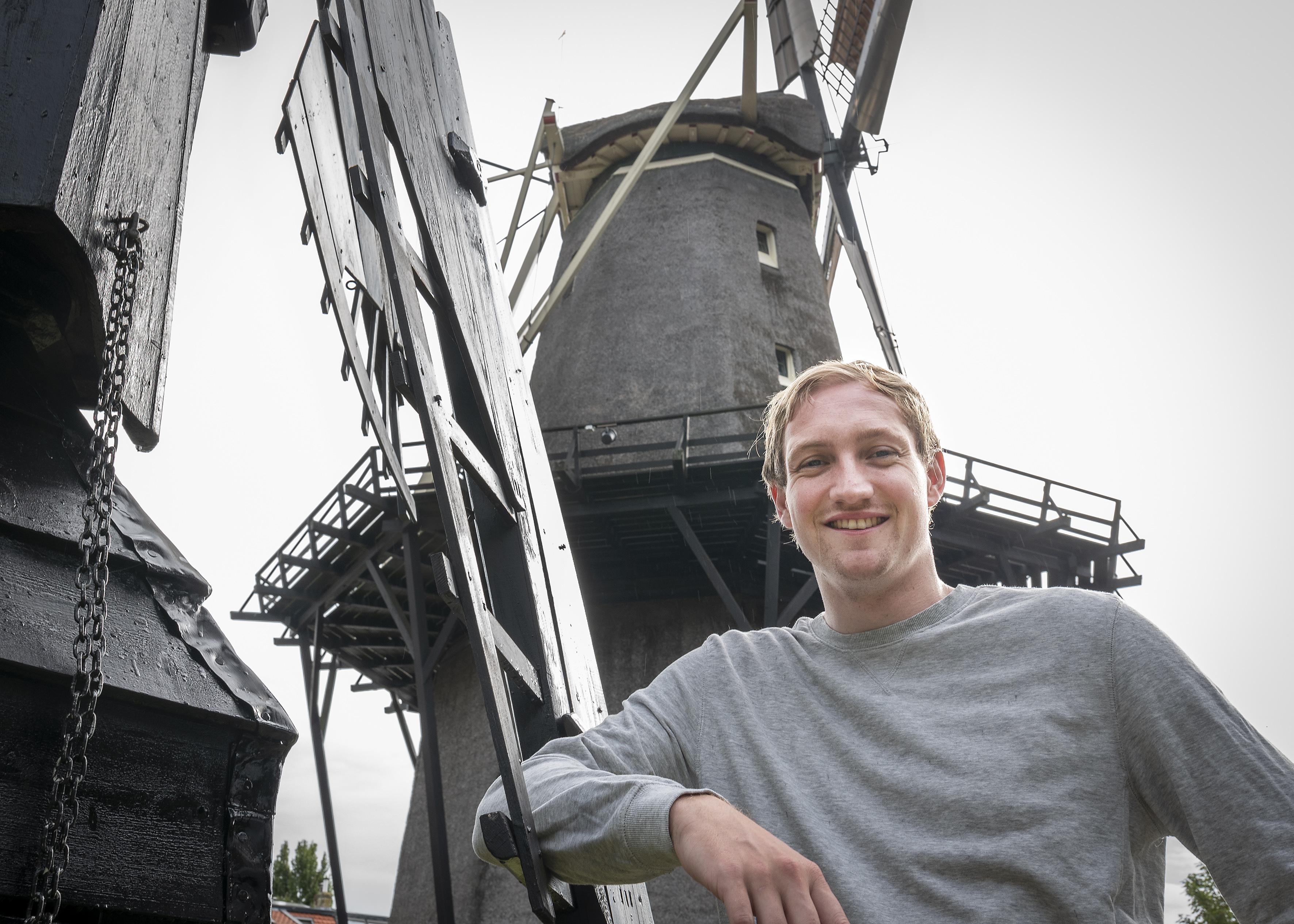 Een leven als molenaar ziet Pieter Kors niet zitten, maar voetballen bij DSS des te meer