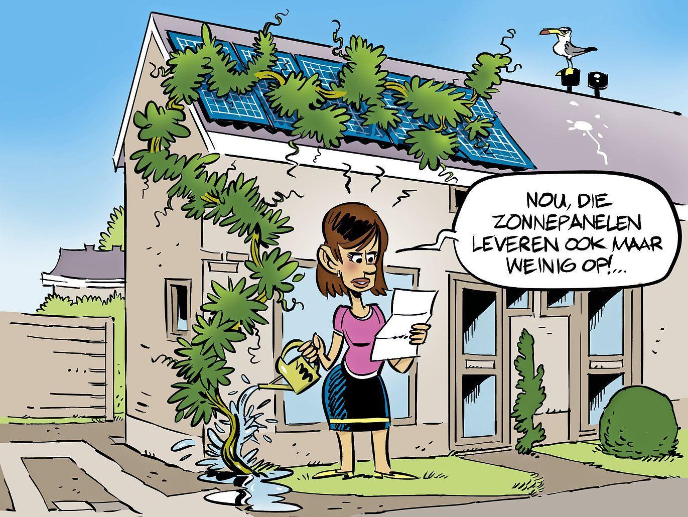 Diaan Kwinkelenberg betaalt meer huur door haar nieuwe zonnepanelen, maar de energierekening stijgt alleen maar: klopt dat wel?