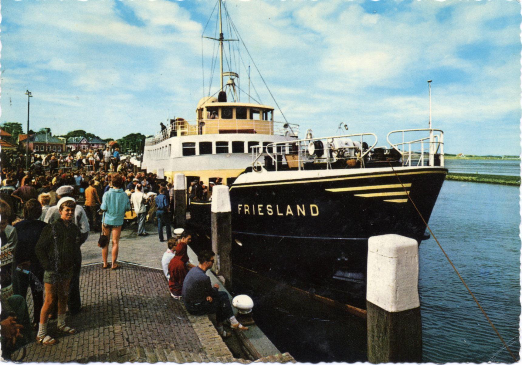 MS Friesland verruilt historische driehoek Hoorn-Enkhuizen-Medemblik voor Vlieland en Terschelling