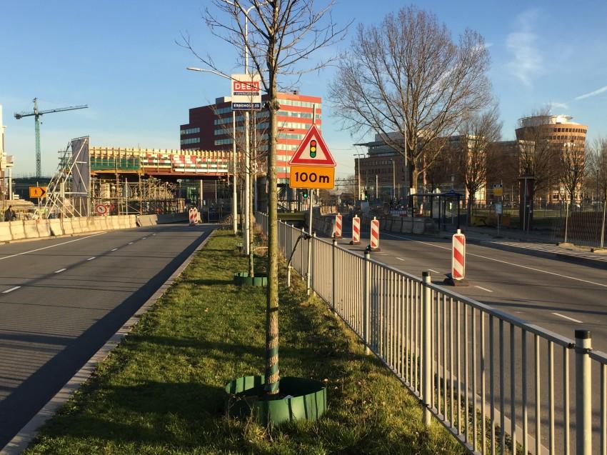 Bouw fietsverbinding Slinger Zaandam vertraagd na aanrijding