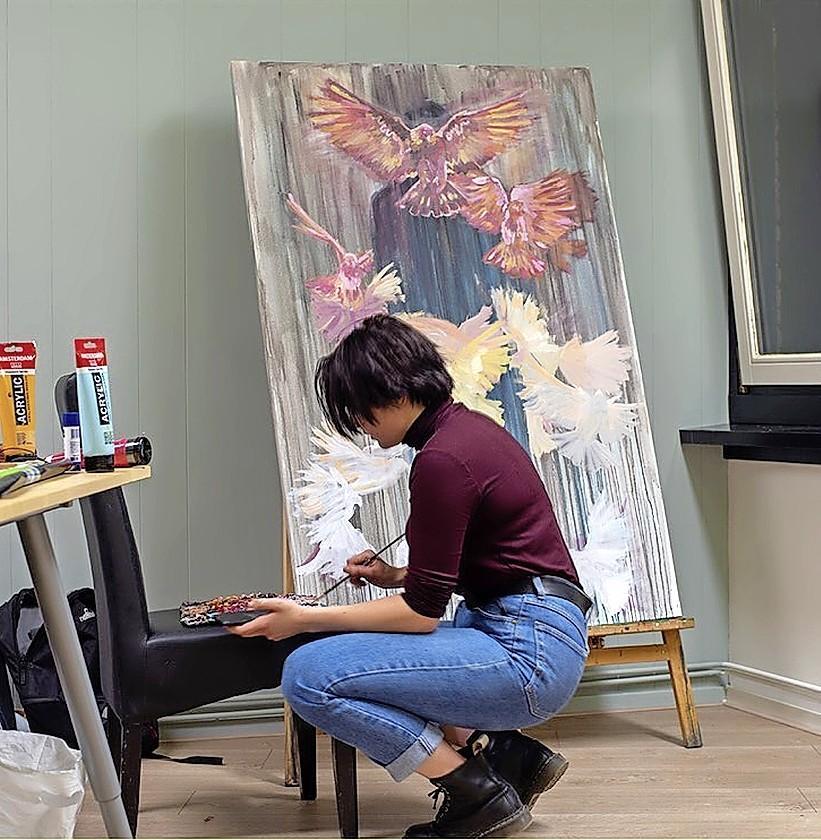 Grootste atelierroute van Nederland start vrijdag; Joke Breemouer laat zich uit over Kunstlijn Haarlem: 'Kunstenaar mag grenzen oprekken'