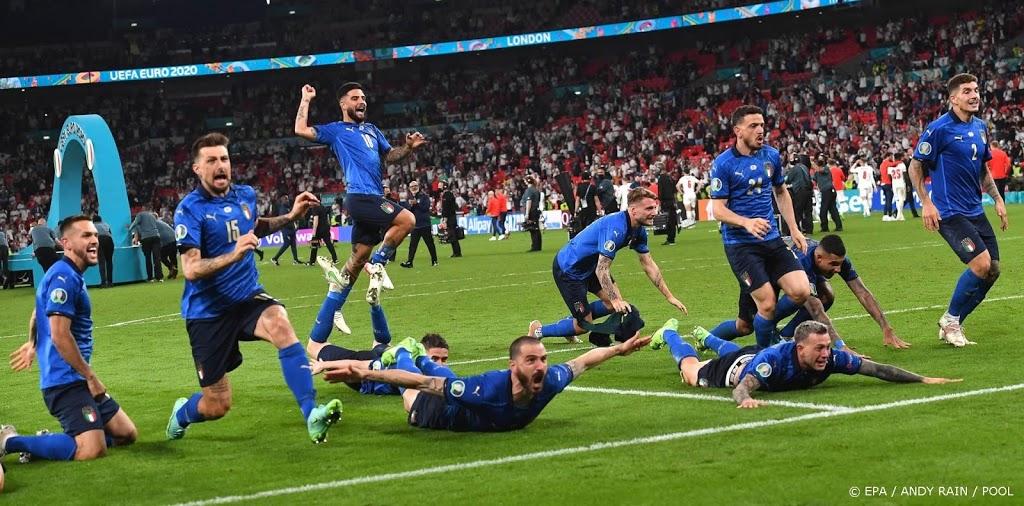 Ruim 4,1 miljoen mensen zien Italië EK-finale winnen