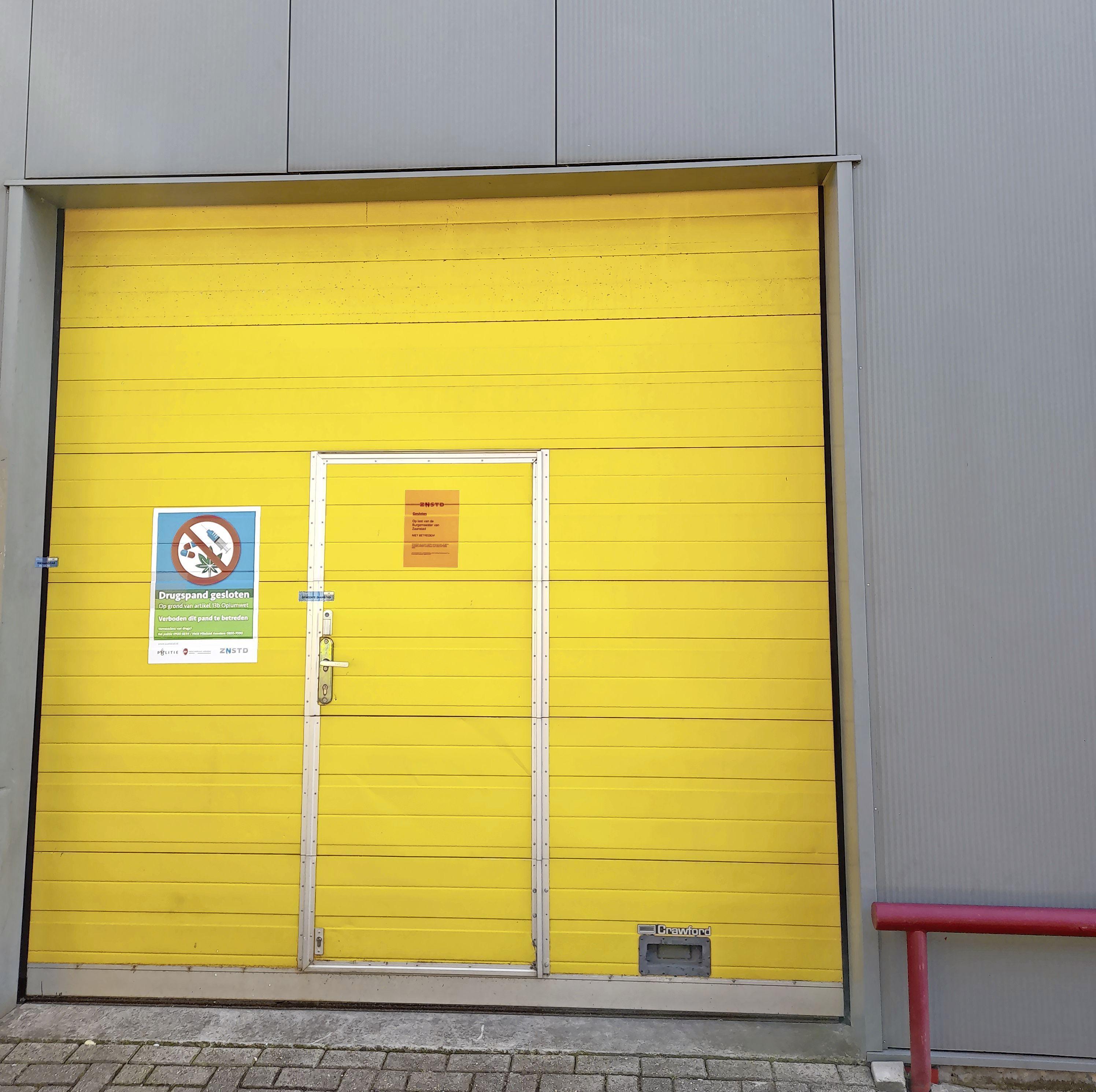 Drugspand in Wormerveer gesloten voor negen maanden. Hennepkwekerij in bedrijfsgebouw