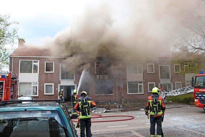 Verdachte van brandstichting Sassenheim aangehouden