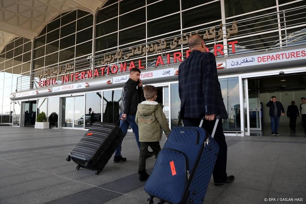 Ruim honderd Nederlandse militairen beveiligen luchthaven Erbil