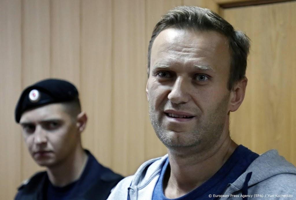 Aanklagers eisen dat Navalni 30 dagen vast blijft zitten