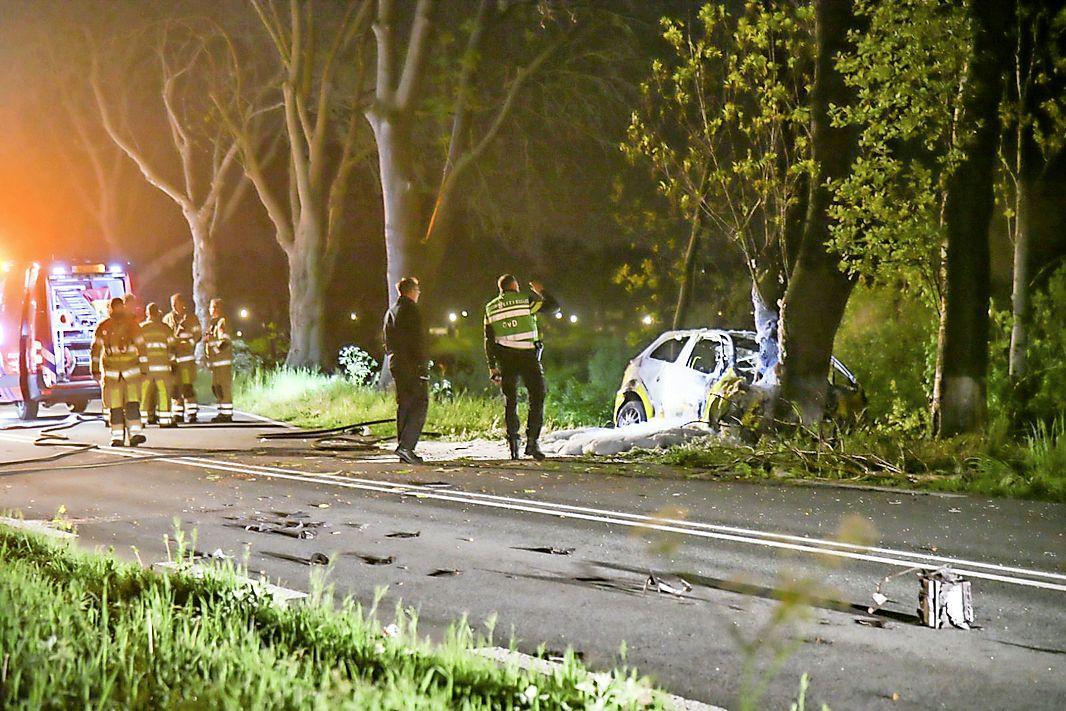 Bestuurder overlijdt bij eenzijdig ongeluk in Hilversum