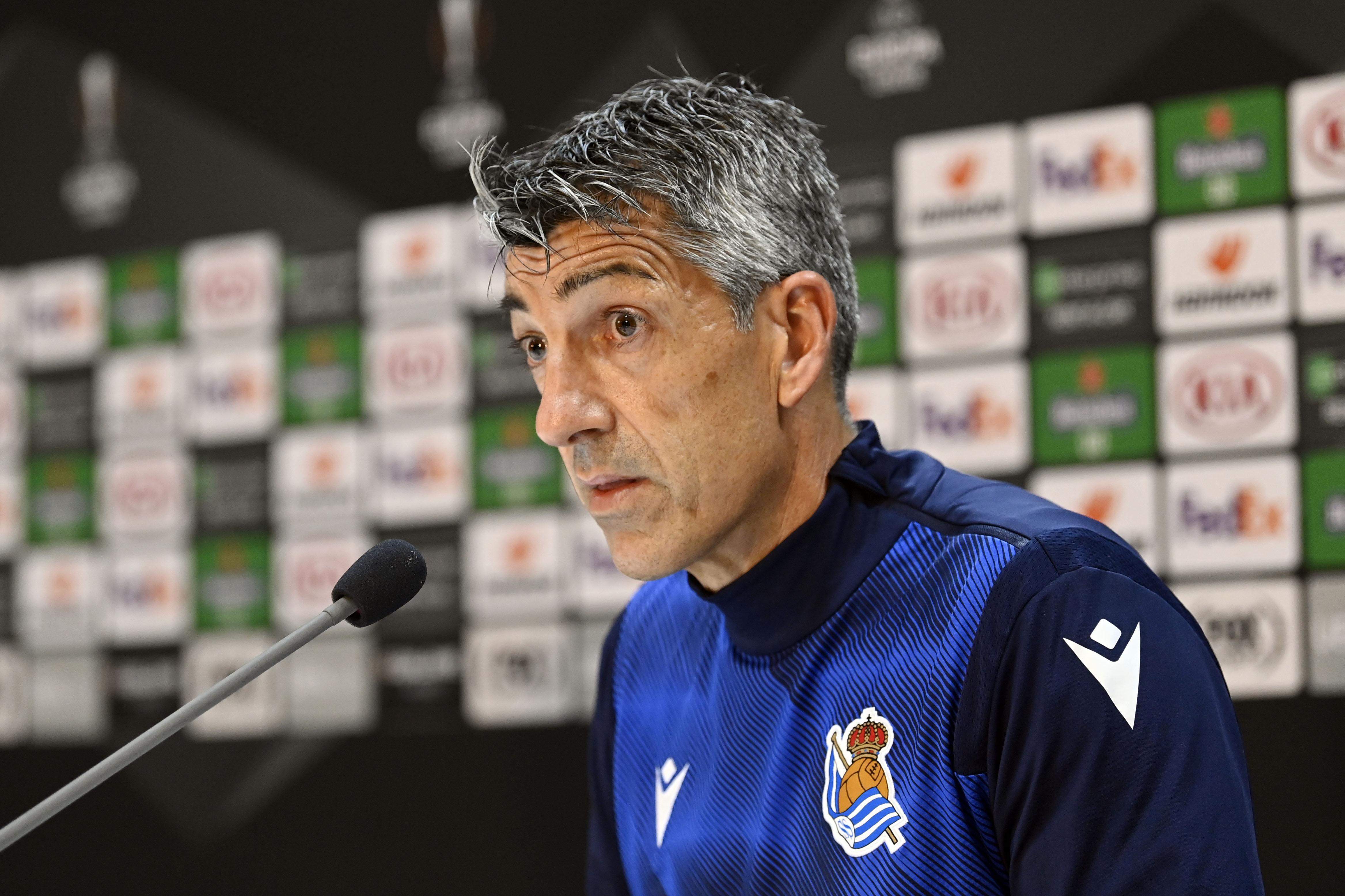 Trainer Real Sociedad: 'We waren thuis uitzonderlijk goed, maar AZ heeft daar niet zijn beste spel laten zien'