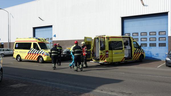 Zwaargewonde bij bedrijfsongeval in Alkmaar
