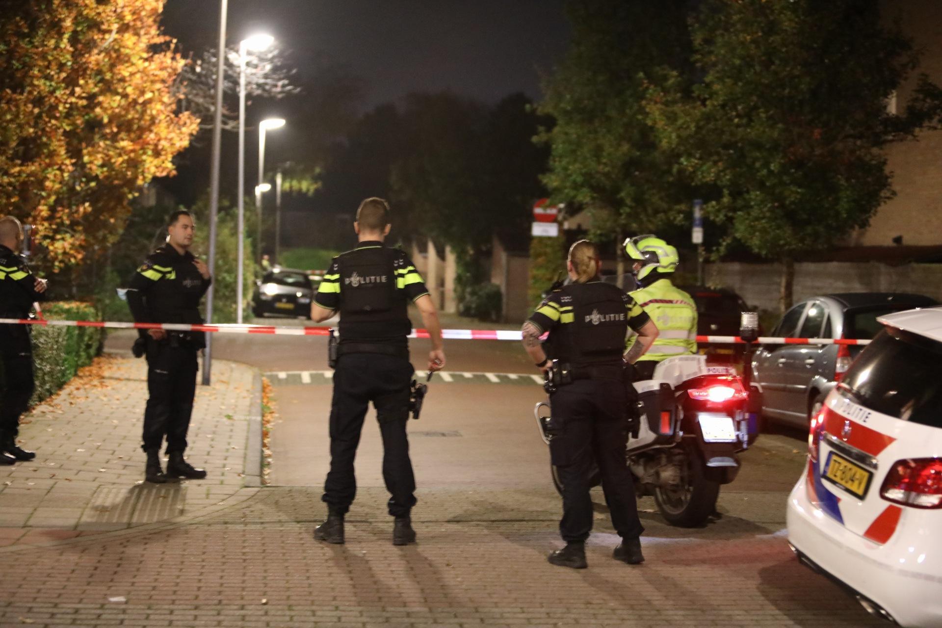 Politie in Naarden uitgerukt vanwege mogelijk schietincident