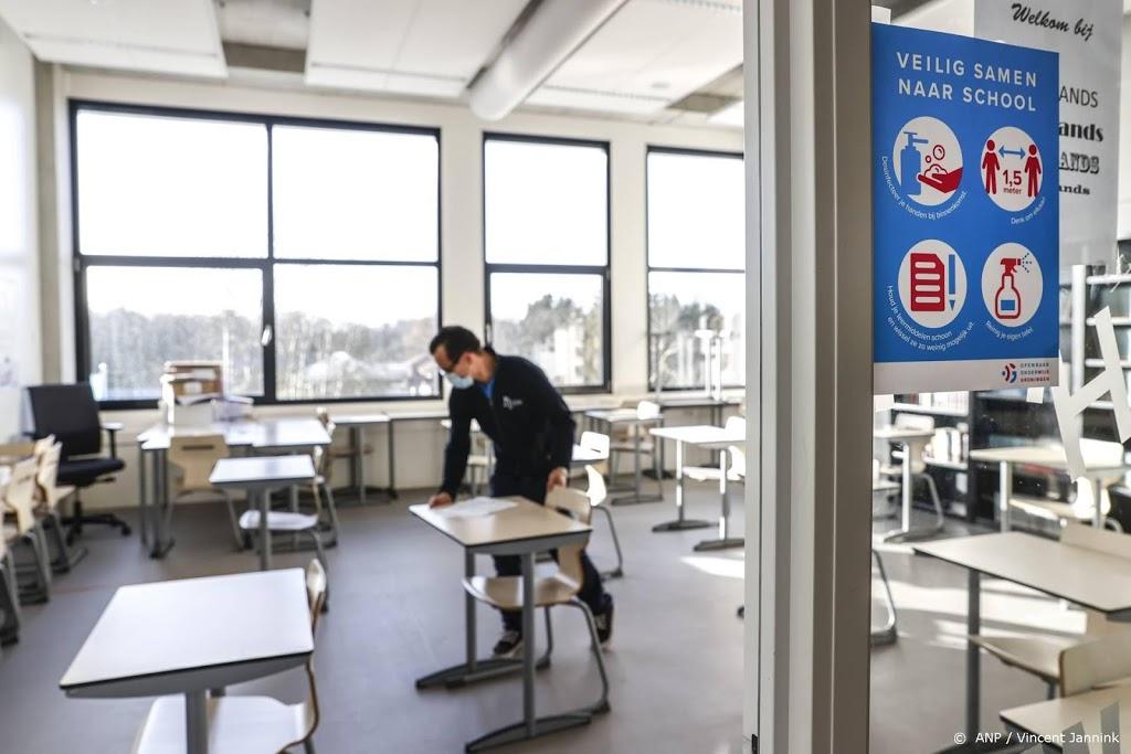 Middelbare scholen gaan vanaf 1 maart weer open