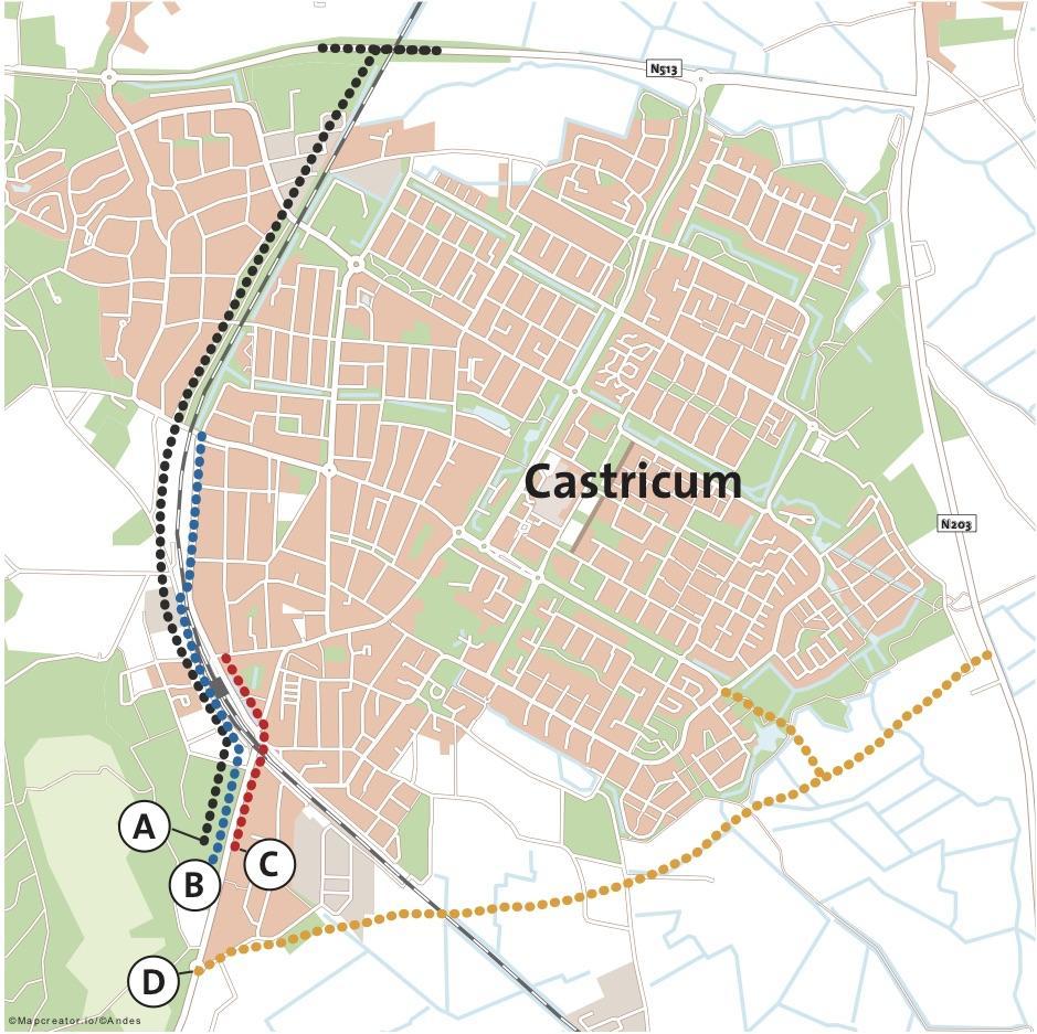 Prorail is nu ook klaar met het spoorwegknooppunt in Castricum. De overgang moet weg, anders is spoorboekloos rijden niet mogelijk. Er zijn vier alternatieven, maar welke moet het worden?