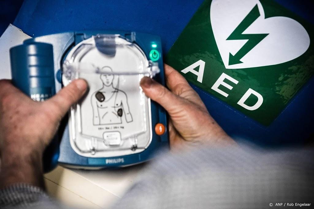 Alle treinstations krijgen AED's