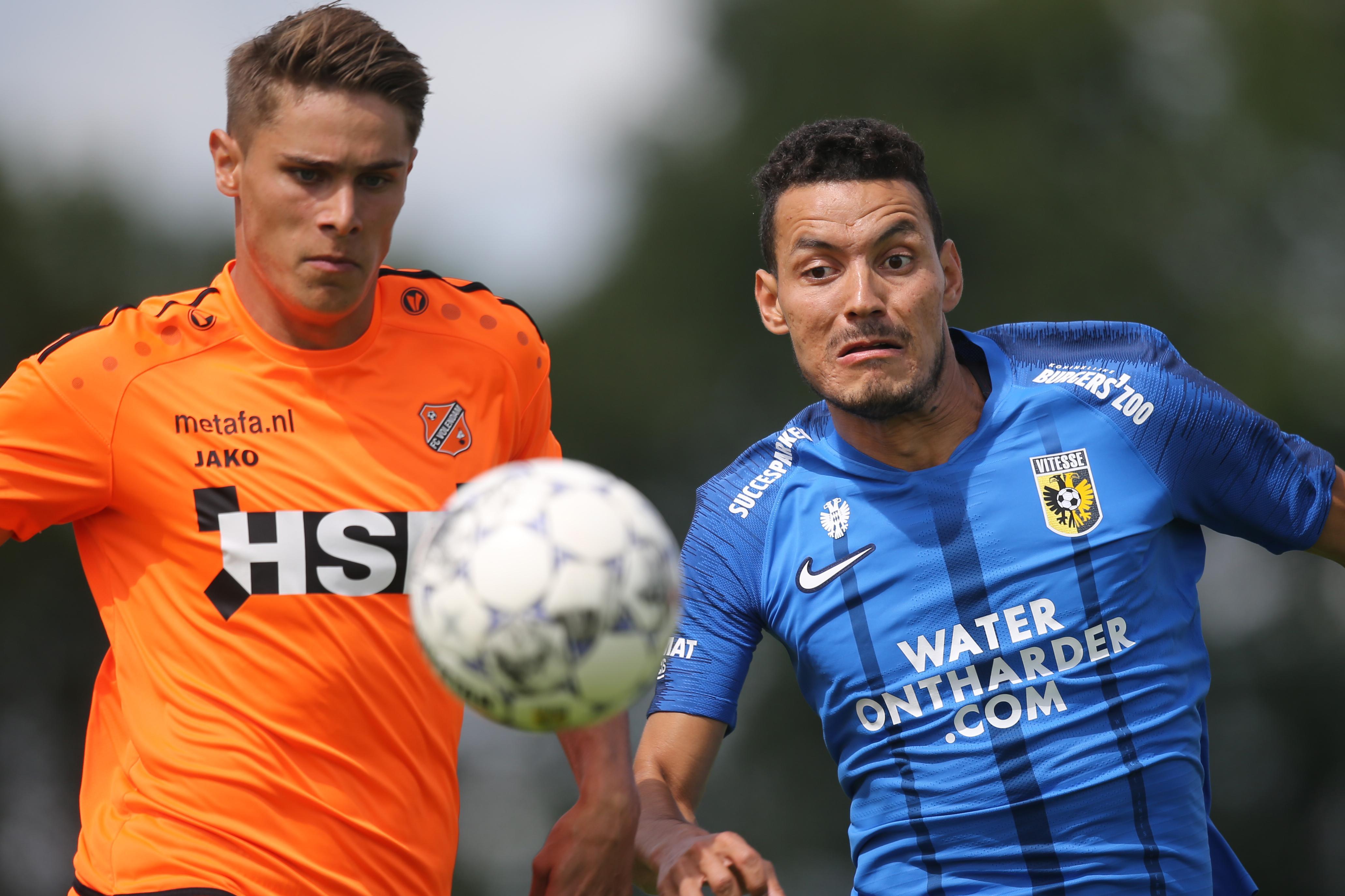 Volendam na sterke eerste helft toch stevig onderuit tegen Vitesse: 0-5